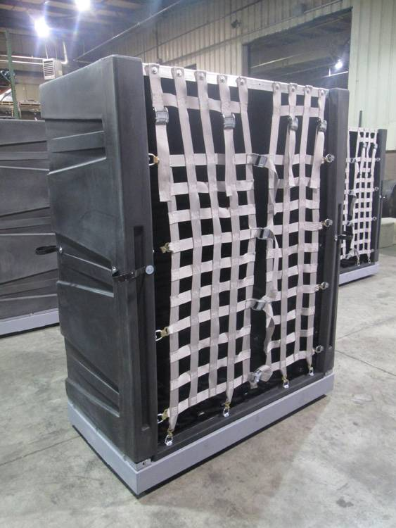 Cargo Shipping Container, Package Delivery Container, Truck Shipping Container